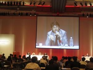 KYOCERA COLLOQUIUM in 2012院長講演