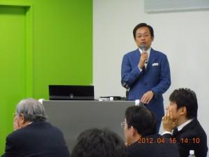 福田先生講演風景
