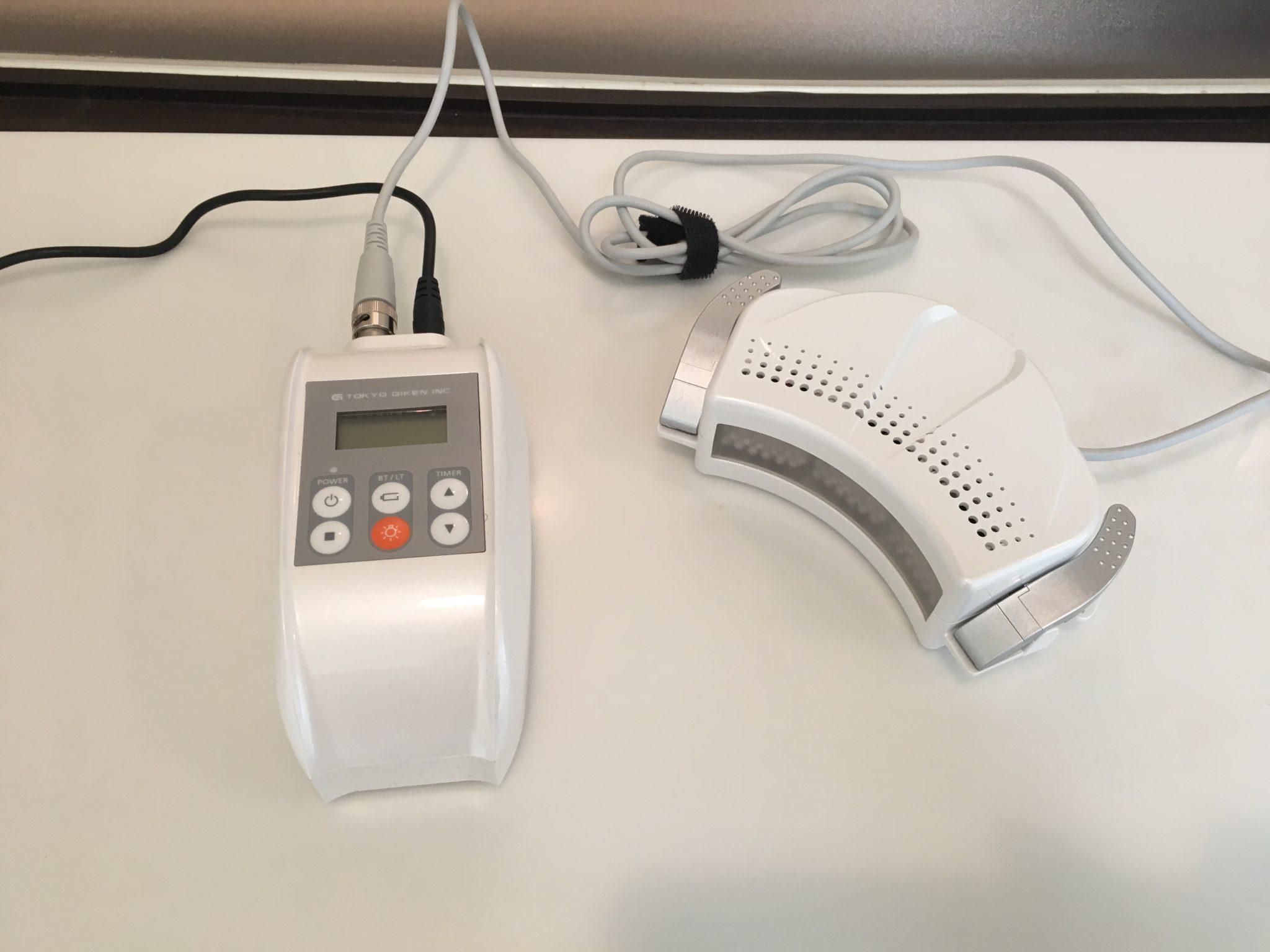 ホワイトニング用光照射器の写真